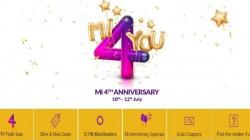 Xiaomi 4th Mi anniversary sale: Rs. 4 flash sale on Redmi Note 5 Pro, Redmi Y2 and more