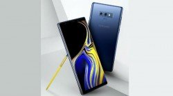 Samsung Galaxy Note9 press image surfaces on web, with gold S Pen