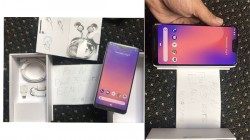 Google Pixel 3XL live images confirms a notched display and Android 9.0 Pie