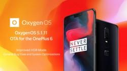 OnePlus 6 OxygenOS 5.1.11 update fixes screen flickering issue