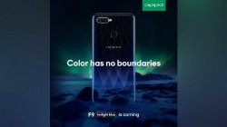 Oppo F9 key specifications hit the web ahead of August 15 launch