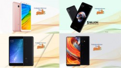Xiaomi Independence Day Sale: Discounts up to Rs 5,000 on Mi Mix 2, Mi Max 2, Mi Band 2 and more