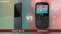 Xiaomi Qin AI vs JioPhone 2: 4G VoLTE feature phones compared