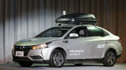 Acer unveils self-driving concept car in Taiwan