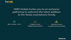 HMD Global to announce a new Nokia smartphone on October 4; Nokia 7.1 Plus expected