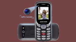 Adcom launches India's first selfie camera feature phone for Rs 790