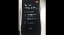Xiaomi Redmi Note 6 Pro live image leaked: Quad-cameras, 6.26-inch display, 4000 mAh battery