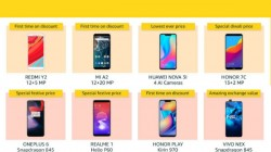 Amazon Great Indian Festival Sale offers on smartphones: Special price, discounts, exchange and more
