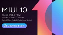 Xiaomi Redmi 6, 6A and Redmi Note 5 receive MIUI 10 stable update