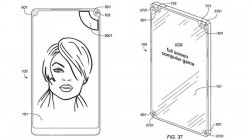 New patent shows new ways to move display notches to the corners