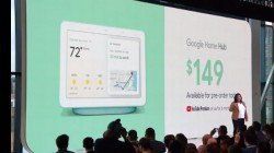 Google Home Hub is the new entrant in the smart display space