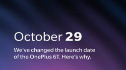 OnePlus 6T will launch a day on the 29th of October early due to Apple's launch event