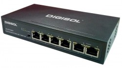 Digisol launches 6 Port Fast Ethernet Unmanaged PoE Switch