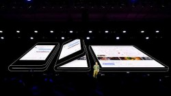 Samsung foldable smartphone revealed in a teaser video