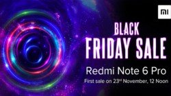 Xiaomi Redmi Note 6 Pro to go on sale on November 23; Black Friday Sale confirmed