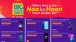 Flipkart Big Shopping Day Sale: Get discounts on Poco F1, Zenfone 5Z, Honor 10, LG G7 ThinQ and more