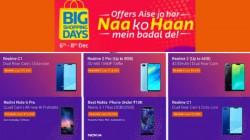 Flipkart Big Shopping Days sale: Heavy discounts on bestselling budget smartphones
