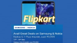 Flipkart Christmas Discount offers on Samsung and Nokia smartphones