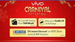 Flipkart Vivo Carnival offers: Grab the Vivo V9 Pro for just Rs 15,990 and more