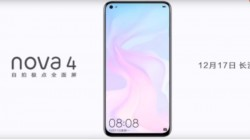 Huawei Nova 4 official teaser on Weibo confirms display with hole for front camera