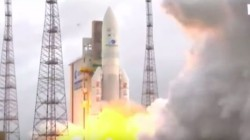 ISRO launced India's heaviest communication satellite GSAT-11 successfully from French Guiana