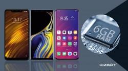 Best 6GB RAM smartphones launched in 2018