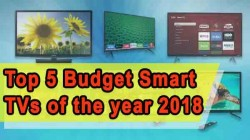 Top 5 Budget Smart TVs of the year 2018