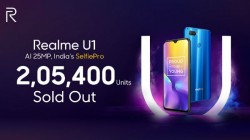 Over 200,000 units of Realme U1 sold in just six minutes during first sale