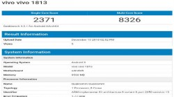 Vivo Z3 Pro with 10GB RAM and Snapdragon 845 SoC appears online on GeekBench