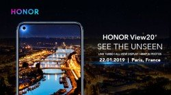 Honor View20 showcased with a 48 Sony primary camera and an in-screen selfie camera