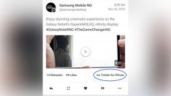 Samsung's official Twitter handle caught using an iPhone, gets trolled