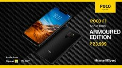 Xiaomi Poco F1 Armoured Edition with 6 GB RAM officially launched for Rs 23,999