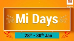 Flipkart Xiaomi Mi Days Sale (Jan 28 to 30th): Avail discounts on Poco F1, Redmi Note 6 pro and more
