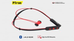 PTron Tangent Pro wireless neckband headphone launched for Rs 999
