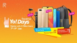 Realme Yo! Days sale to debut on January 7: First sale, offers and discounts