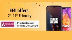 Amazon EMI Offer: Get attractive discounts on new smartphones