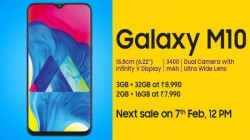 Samsung Galaxy M10 vs other budget smartphones under Rs. 10,000