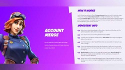 Fortnite started rolling account merger feature for PS4, Xbox One and Nintendo Switch
