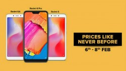Xiaomi Redmi 6, Redmi 6 Pro and Redmi 6A get up to Rs. 2,500 discount