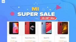Mi Super Sale (25th to 28th March): Redmi Note 6 Pro, Poco F1, Redmi Y2 and more