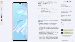 Huawei P30 Pro briefly listed on Amazon; price and key specifications revealed