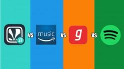 Spotify vs Gaana vs JioSaavn vs Amazon Music: How does it compare?