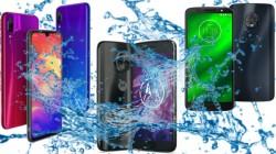 Water resistant smartphones to buy in India under Rs. 15,000