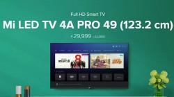 Xiaomi Mi LED TV 4A Pro 49-inch now available for Rs 29,999 on Mi.com, Flipkart, and Amazon