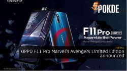 Oppo F11 Pro Marvel Avengers Limited Edition coming on April 24, 2019