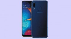 Samsung Galaxy A20e latest leaked renders suggest teardrop notch and dual-rear cameras