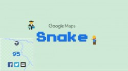 How to Play Classic Snake Game on Google Maps on your phone and web browser