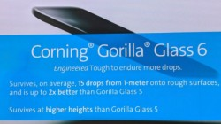 List of smartphones that feature Corning Gorilla Glass 6