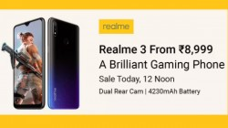 Realme 3 latest flash sale: Now available for Rs 8,999
