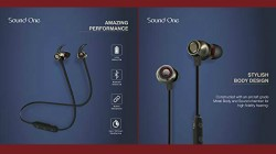 Sound One X70 Bluetooth earphones with 8 hours battery life officially launched for Rs 2,790